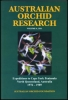 Australian Orchid Research Volume 6