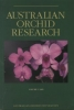 Australian Orchid Research Volume 1