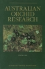 Australian Orchid Research Volume 2 - OB51102A